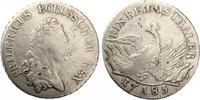 1785  1 Reichstaler Brandenburg Preussen 1785 A Friedrich der Große s-... 105,00 EUR  +  7,00 EUR shipping