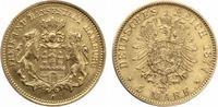 1877  5 Mark Hamburg 1877 Gold vz  700,00 EUR  +  7,00 EUR shipping