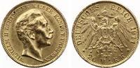 1911  Preussen 20 Mark Wilhelm II vz  315,00 EUR  Excl. 7,00 EUR Verzending