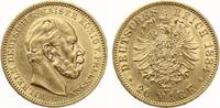 1884  20 Mark Preussen Wilhelm I f.vz  315,00 EUR  +  7,00 EUR shipping