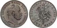 1883  2 Mark Preussen Wilhelm I vz-st feine Patina  475,00 EUR  +  7,00 EUR shipping