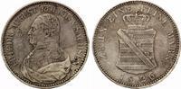 Sachsen Taler 1826 S Friedrich August I. 1806-1827 ss Randfehler  110,00 EUR  +  7,00 EUR shipping