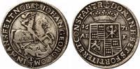 Mansfeld vorderortische Linie Eisleben Johann Georg III 1663-1710 1/3 Taler