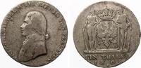 1809 A  Brandenburg Preussen  Friedrich Wilhelm III Taler 1809 ss saub... 100,00 EUR  +  7,00 EUR shipping