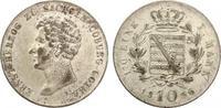 1836  Sachsen Coburg Gotha 10 Kreuzer 1836 fast vz  75,00 EUR  Excl. 7,00 EUR Verzending