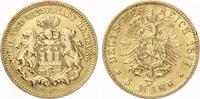 1877  5 Mark Hamburg 1877 Gold ss/vz  650,00 EUR  +  7,00 EUR shipping