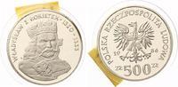 "1986  500 Zloty Polen 1986 PP ""Wladyslaw I Lokietek"" pp  55,00 EUR  +  7,00 EUR shipping"