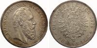 1876  5 Mark Württemberg Karl Jaeger 173 vz+ feine Patina  900,00 EUR  +  7,00 EUR shipping