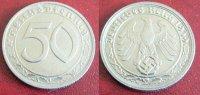 1939 G  50 Reichspfennig vz  85,00 EUR  Excl. 7,00 EUR Verzending