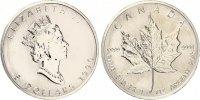 30 x 5 Dollars Meaple Leaf banküblich  1100,00 EUR  Excl. 7,00 EUR Verzending