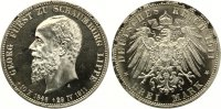 3 Mark Schaumburg Lippe 1911 auf den Tod