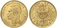 1911  20 Mark Hessen vz/st Aver kl Kratzer  695,00 EUR  Excl. 7,00 EUR Verzending