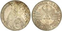 1955  5 DM Markgraf von Baden vz-st  285,00 EUR  Excl. 7,00 EUR Verzending