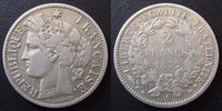 1872 A France 2 francs Cérès 1872 A Paris, 3e République, G.530a presq... 45,00 EUR  +  6,00 EUR shipping