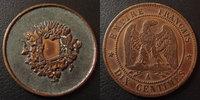 Curiositée numismatique, gravure, forme 10 centimes Napoleon III, ave... 45,00 EUR  +  6,00 EUR shipping