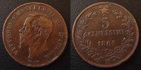 1861 M Italie, Italia, Italien Italie, Italia, 5 centesimi 1861 M, KM.... 3,50 EUR  +  6,00 EUR shipping