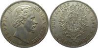 "Deutschland Bayern 5 Mark J42 5 Mark Ludwig II. ""D"""