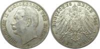 3 Mark 1915 G Deutschland Baden J39 3 Mark Friedrich II. 'G' vzgl ... 175,00 EUR  +  12,95 EUR shipping