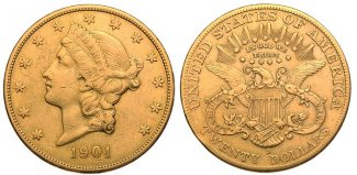 USA 20 Dollar 1901 S ss 