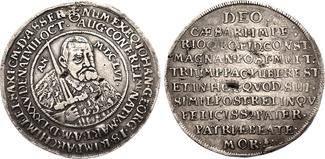 Reichstaler a. d. Tod 1656 Sachsen Johann ...