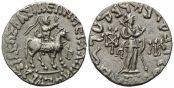 Indo-Skythen, AR Tetradrachme (20-1v.Chr.)...