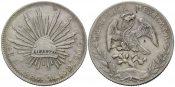 Mexiko, China, 8 Reales 1893 ss chinesisch...