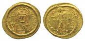 Byzanz, AV Solidus CONOB =Konstantinopel, ...
