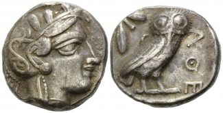 Griechenland, AR Tetradrachme (5. Jh.v.Chr...
