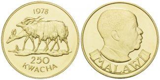 Malawi, 250 Kwacha 1978 st Nayales Antilope,