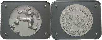 USA, Medaille von Salvador Dali 1984 st Ol...