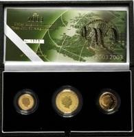 3 1/2 Pounds 2003 Großbritannien, Gold Pro...