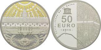 50 Euro 2015, Frankreich, UNESCO - Les Riv...