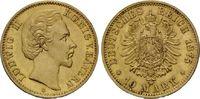 Bayern, 10 Mark Ludwig II., 1864-1886,