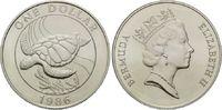 Dollar 1986 Bermuda, Schildkröte, st  22,00 EUR  +  9,90 EUR shipping