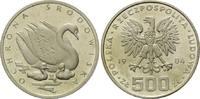500 und 1000 Zlotych 1984 Polen, Schwan, 2 Stk., l.ber.PP und PP  170,00 EUR  plus 9,90 EUR verzending