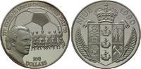 100 Dollars 1990, Niue, Fußball-WM 1990 in Italien, PP  175,00 EUR  +  9,90 EUR shipping