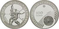 100 Tenge 2004, Kasachstan, Fußball-WM 2006 in Deutschland, PP  29,00 EUR  +  9,90 EUR shipping
