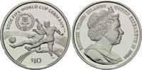 10 Dollars 2004, Britische Jungferninseln, Fußball-WM 2006 in Deutschla... 28,00 EUR  +  9,90 EUR shipping