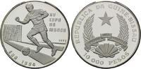 10000 Pesos 1992, Guinea-Bissau, Fußball-WM 1994, PP  32,50 EUR  +  9,90 EUR shipping