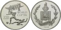 250 Tugrik 1994, Mongolei, Fußball-WM 1994, PP  26,00 EUR  +  9,90 EUR shipping