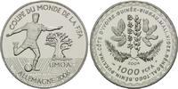 1000 Francs 2004, West afrikanische Staaten, Fußball-WM 2006 in Deutsch... 45,00 EUR  +  9,90 EUR shipping