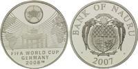10 Dollars 2007, Nauru, Fußball-WM 2006 in Deutschland, PP  32,50 EUR  +  9,90 EUR shipping