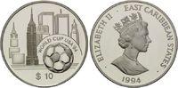 10 Dollars 1994, Ostkaribische Staaten, Fußball-WM 1994, PP  20,00 EUR  +  9,90 EUR shipping