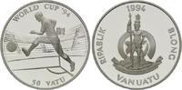 50 Vatu 1994, Vanuatu, Fußball-WM 1994, PP  26,00 EUR  +  9,90 EUR shipping