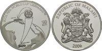 50 Kwacha 2006, Malawi, Fußball-WM 2006 in Deutschland, PP  29,50 EUR  +  9,90 EUR shipping