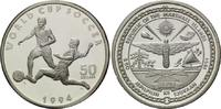 50 Dollars 1994, Marshallinseln, Fußball-WM 1994, PP  25,00 EUR  +  9,90 EUR shipping