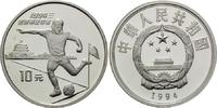 10 Yuan 1994, China, Fußball-WM 1994 in den USA, PP  32,00 EUR  +  9,90 EUR shipping
