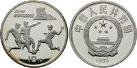 10 Yuan 1993, China, Fußball-WM 1994 in den USA, PP, fleckig  24,00 EUR  +  9,90 EUR shipping
