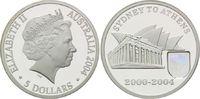 5 Dollars 2004, Australien, Olympiade Sydney 2000, Sydney to Athens 200... 59,00 EUR  +  9,90 EUR shipping