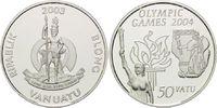 50 Vatu 2003, Vanuatu, Olympiade Sydney 2004, Fackelträger Antik und Ne... 26,00 EUR  +  9,90 EUR shipping